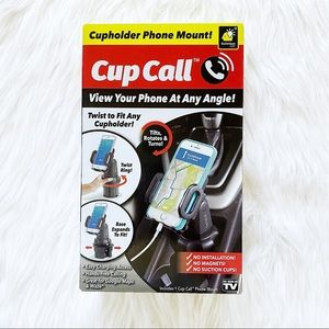 as seen on tv cup call cup holder phone mount